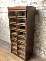 1930s Dark Oak Haberdashery Cabinet (3 of 3)