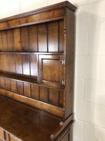 Large 20th Century Georgian Style Oak Dresser (22 of 23)
