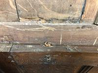 18th Century Oak Coffer with Inlay (5 of 13)