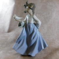 """Vuela"" or ""Winged Friend"" Retired Figurine by Nao"