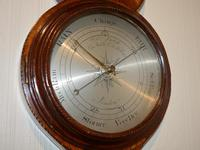 Rarer Early Wheel Barometer Gough High Holborn London (3 of 5)