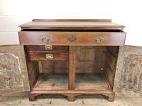 Antique Oak Cupboard on Bracket Feet (4 of 12)