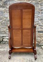 Victorian Floorstanding Mahogany Cheval Mirror (12 of 16)