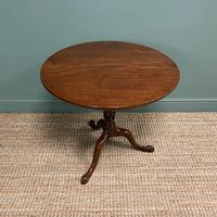 Georgian Mahogany Circular Antique Table (5 of 8)