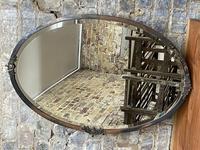 Antique Bronze Mirror (2 of 2)