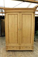 Fabulous & Exceptional Quality! Big Old Pine Double 'Knock Down' Wardrobe (17 of 17)