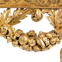 Imposing Victorian giltwood console table in the manner of William Kent (3 of 8)