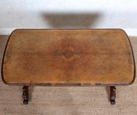 Walnut Writing Table 19th Century (6 of 14)