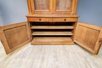 Victorian Oak Library Bookcase (3 of 6)