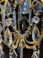 One Light Italian Open Lantern Antique Chandelier (8 of 12)