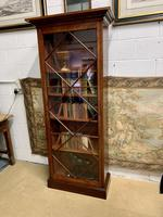 Late Victorian Bookcase with Glazed Door & Adjustable Shelves (3 of 7)