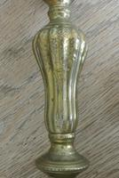 Fine Pair of 18th Century French Brass Candlesticks Seamed (9 of 11)