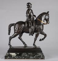 Very Large Stunning 19th Century Equestrian Bronze Sculpture of Bartolomeo Colleoni (18 of 20)