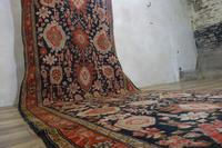 Extremely Long Early 20th Century Kuba Kelleh Corridor Carpet - Rug (3 of 11)