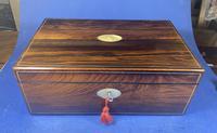 William IV Pewter Inlaid Rosewood Box (2 of 18)