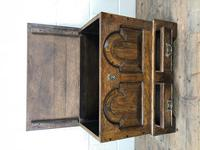 Antique 18th Century Style Welsh Oak Coffer Bach (7 of 14)