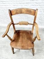 19th Century Windsor Bar-back Armchair (4 of 6)