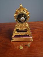 Louis XV Style Ormolu Mantel Clock by Raingo, Paris (12 of 16)