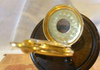 Vintage Pocket Watch 1970s Swiss County 17 Jewel 12ct Gold Plated FWO (6 of 12)