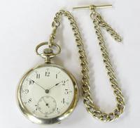 1920s Minerva Pocket Watch & Chain (2 of 5)