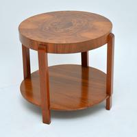 1920's Art Deco Period Walnut Coffee Table (7 of 7)