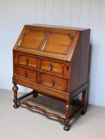 Solid Golden Oak Bureau (7 of 10)
