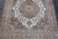 Fine Antique Tabriz Roomsized Carpet 382x285cm (9 of 9)