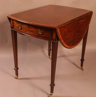Georgian Mahogany Pembroke Table Superb