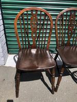 Harlequin Set 10 Ash & Elm Kitchen Chairs (2 of 10)