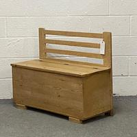 Old Pine Box Bench (3 of 4)