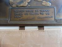 Bronzed Metal Calendar Signed Alex Henshaw MBE 1941 (3 of 13)