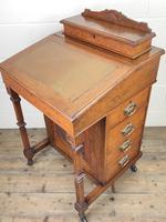 Antique Edwardian Davenport Desk (2 of 15)