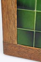 Edwardian Arts & Crafts Oak Tile Top Side Table (12 of 13)