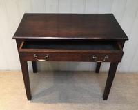 Early 19th Century Oak Side Table (5 of 10)
