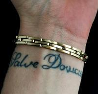 Antique Mourning Bracelet, 9ct Gold, Hairwork, Conversion (9 of 11)