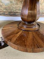 Large English Regency Rosewood Centre Table (5 of 6)
