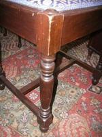 Large Mahogany Stool (2 of 2)