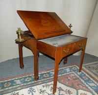 Chippendale period mahogany architect's table (8 of 9)