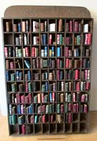 Vintage Miniature Bookcase with 178 Miniature Books Attractive Mini Library