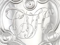 Sterling Silver Quart & Half Tankard - Antique George IV 1820 (10 of 15)