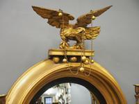 Large Regency Gilt Girandole Mirror (3 of 12)