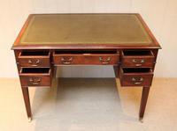 Large Mahogany Writing Desk (7 of 11)