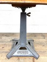 Original Industrial Singer Stool / Machinist Stool (5 of 9)