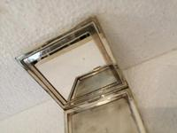 Wonderful Silver Mounted Guilloche Enamel Powder Compact (4 of 9)