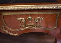 Antique Bureau Plat Desk - French Empire 1930 (6 of 12)