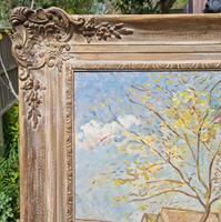 Carved Framed Oil on Canvas (6 of 9)