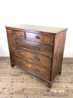 Antique 19th Century Mahogany Chest of Drawers (8 of 10)