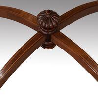 Edwardian Inlaid Circular Mahogany Occasional Table (4 of 6)