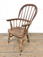 Antique Child's Windsor Chair (3 of 8)