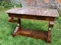 Burr Walnut Console Table (6 of 9)